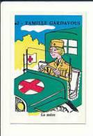 Humour / Infirmière De La Croix-Rouge En Auto / Voiture Jeep ???   // IM 51/59 - Old Paper