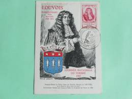 LOUVOIS - Surintendant Des POTES, Journée Nationale Du Timbre 1947 - Historical Famous People