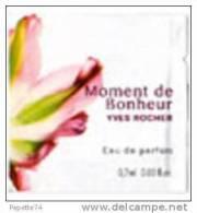 Echantillon Moment De Bonheur Yves Rocher Eau De Parfum 0.7ml - Echantillons (tubes Sur Carte)