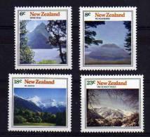 New Zealand - 1973 - Mountain Scenery - MNH - Nouvelle-Zélande