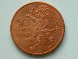 50 VLAAMSE FRANKEN / VLAANDEREN 1986 ( Koperkleur - For Grade And Details, Please See Photo ) - Belgium