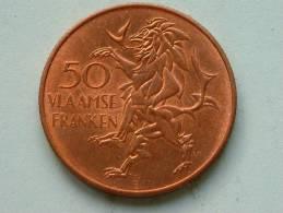 50 VLAAMSE FRANKEN / VLAANDEREN 1986 ( Koperkleur - For Grade And Details, Please See Photo ) - Belgique