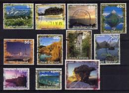 New Zealand - 1995/2000 - New Zealand Scenery (Part Set) - Used - Nouvelle-Zélande