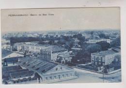 CPA PERNAMBUCO , RECIFE, BAIRRO DA BOA VISTA En 1923 !! - Recife