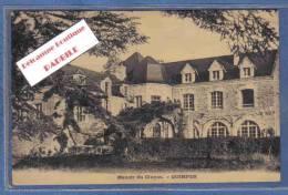 Carte Postale 29. Quimper  Manoir Du Cluyou Trés Beau Plan - Quimper