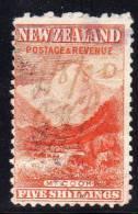 NOUVELLE ZELANDE - N° 93   Obl (1899-1907)  Sans Filigrane - 1855-1907 Crown Colony