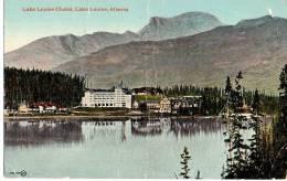 Lake Louise Chalet, Lake Louise Alberta - Lac Louise