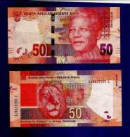 SOUTH AFRICA 2012 MANDELA 50 RAND NOTE (crispy New, Straight From The Bank) COLLECTORS ITEM - South Africa