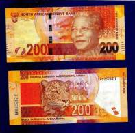 SOUTH AFRICA 2012 MANDELA 200 RAND NOTE (crispy New, Straight From The Bank) COLLECTORS ITEM - Zuid-Afrika