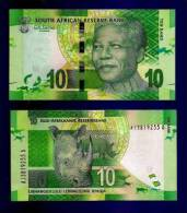 SOUTH AFRICA 2012 MANDELA 10 RAND NOTE (crispy New, Straight From The Bank) COLLECTORS ITEM - South Africa