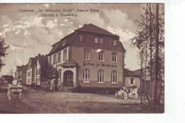 """AK Düstrup Gasthaus """" Zur Blühenden Heide """" Automobil Gb.1915 - Ohne Zuordnung"""
