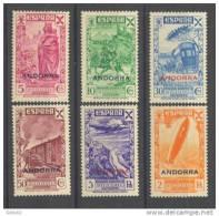 ANDBE7-3398TAN.España Spain Espagne ANDORRA  ESPAÑOLA BENEFICENCIA .1943.(Ed 7/12**)sin Charrnela. LUJO - 1931-Hoy: 2ª República - ... Juan Carlos I