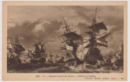 COMBAT NAVAL DU TEXEL - TABLEAU D' ISABEY - DOS VIERGE - Altre Guerre