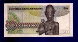 EGYPT   Used VF Banknote 50 Piastres KM35 - Egypte
