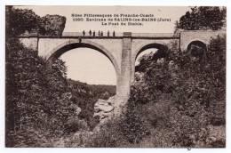 Cpa 25 - Sites Pittoresques De Franche-Comté - Environs De Salins Les Bains - Le Pont Du Diable - Francia