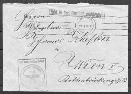 1940 Austria Wien Germany Reich Dienstpost Official Briefe - Briefe U. Dokumente