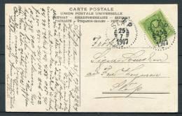1907 Sweden Drottninghuset Saro Slap Postcard