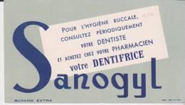 Buvard Dentifrice Sanogyl - Parfums & Beauté