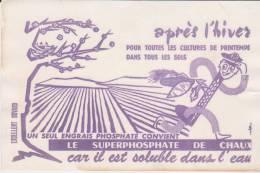 Buvard Engrais Superphosphate De Chaux - Agriculture