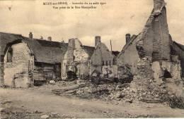 10 Mery Sur Seine, Incendie Du 12 Aout 1911, Vue Prise De La Rue De Montpellier - Otros Municipios