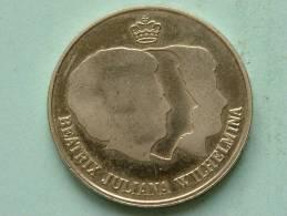 Rabobank 100 Jaar - Toekomst Door Samenspel 1998 ( 33 Mm. - 13.1 Gram / Zilverkleurig - Voor Détails Zie Foto ) ! - Professionals/Firms