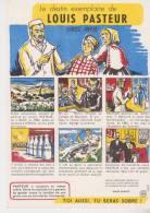 Buvard Santé Sobriété Louis Pasteur - Buvards, Protège-cahiers Illustrés