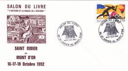 Salon Du Livre 1992 Saint-Didier Au Mont D'or BT 1992 - 69 - Gedenkstempel