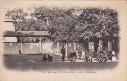 BEN-AKNOUN - Petit Lycée - Une Cour - Jolie Animation - Argelia