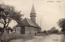 76 Montmain L'église - Autres Communes