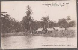 AO--DAKAR ---Un Village Au Bord De La Lagune - Senegal