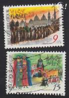 1987 - BELGIË/BELGIQUE/BELGIEN - Y&T 2249/2250 - Veurne & Wavre - Belgien