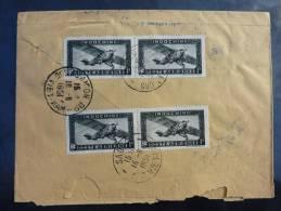 LETTRE RECOMMANDEE DE SADEC SUD VIETNAM 1951 POUR SAIGON COVER - Indochine (1889-1945)