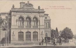 Le Tarn Illustré. Albi- Le Théâtre Et L'Avenue Villeneuve - Albi
