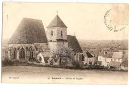 SOUANCE Abside De L'Eglise (1904) - Non Classés