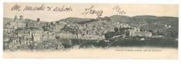 4118 SICILIA PIAZZA ARMERINA ENNA 1908 VIAGGIATA CARD DOPPIA - Italia
