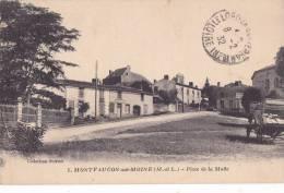 ¤¤  -  1  -  MONTFAUCON-sur-MOINE   -  Place De La Motte   -  ¤¤ - Montfaucon