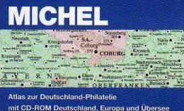 MlCHEL Atlas Der Welt-Philatelie 2013 Neu 79€ Mit CD-Rom Zur Postgeschichte A-Z Mit Nummernstempeln Catalogue Of Germany - CDs