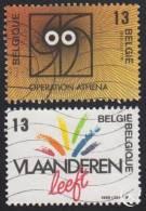 1988 - BELGIË/BELGIQUE/BELGIEN - Y&T 2277/2278 - Vlaanderen & Wallonie - Belgien