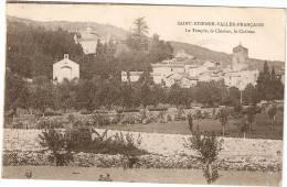 Saint Etienne Vallée Française Le Temple,Le Clocher Le Chateau - France
