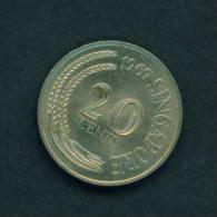 SINGAPORE  -  1967  20 Cents  Circulated As Scan - Singapore