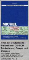MlCHEL Atlas Deutschland-Philatelie 2013 Neu 79€ Mit CD-Rom Postgeschichte A-Z Mit Nummernstempeln Catalogue Of Germany - Kreative Hobbies