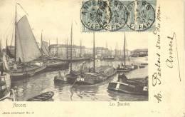 ANTWERPEN  1906  ANVERS LES BASSINS    SERIE ARTISTIQUE  N° 17 - Antwerpen