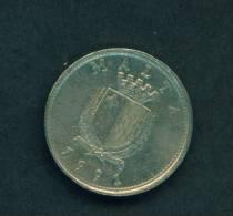 MALTA  -  1991  10 Cents  Circulated As Scan - Malta
