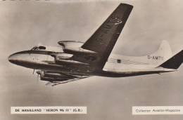 DE HAVILLAND   HERON MK II G.B.    /////    REF  N504 - 1946-....: Moderne