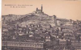 France Marseille Vue Generale sur Notre Dame de la Garde