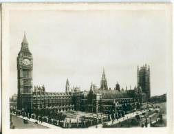 UK, London, Houses Of Parliament, 1910s-20s Real Photo Snapshot [12676] - Photography