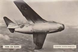 SAAB  J29    SUEDE  //////    REF   N534 - 1946-....: Moderne