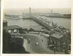 UK, The Pier And Promenade, Whitby, Photo Snap-Shot  [12690] - Other