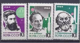 Russia1964: Michel 2898A-900Amnh** - Russia & USSR