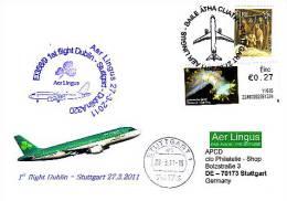Erstflug - Aer Lingus - Dublin - Stuttgart - Airbus A320 - 27.03.2011 [dz14] - Irland